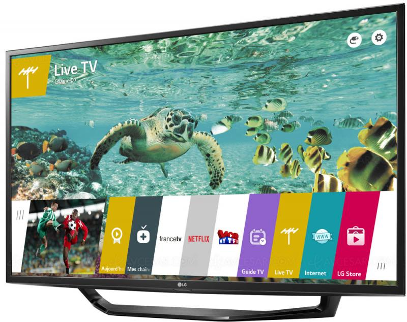 "49"" LG 49UH620V 4K Ultra HD Freeview HD Smart HDR LED TV"