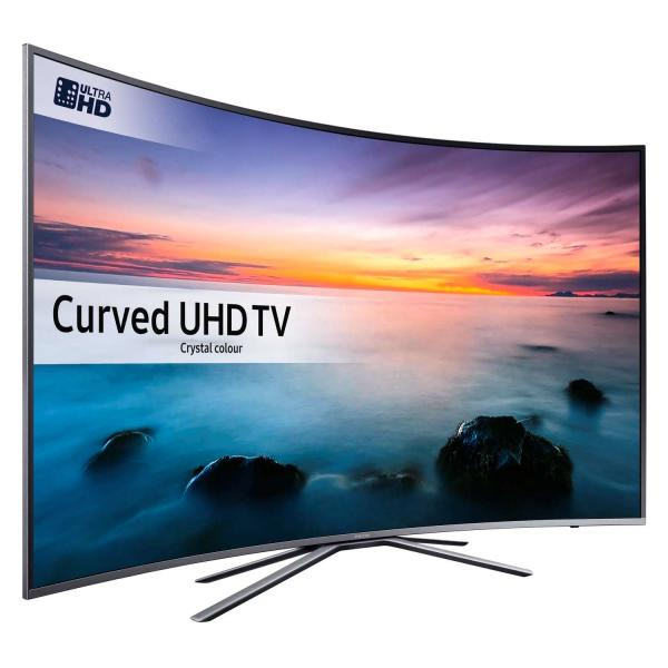 "55"" Samsung UE55KU6500 Curved 4K Ultra HD HDR Freeview HD Smart LED TV"
