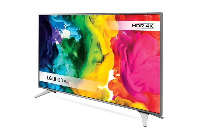 "49"" LG 49UH650V 4K Ultra HD Freeview HD Smart HDR LED TV"