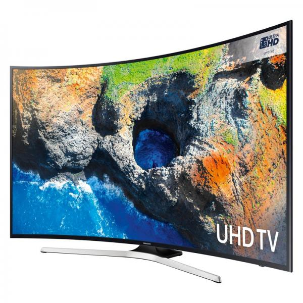 65 Samsung UE65MU6200 Curved Ultra HD HDR 4K Freeview HD Smart LED TV