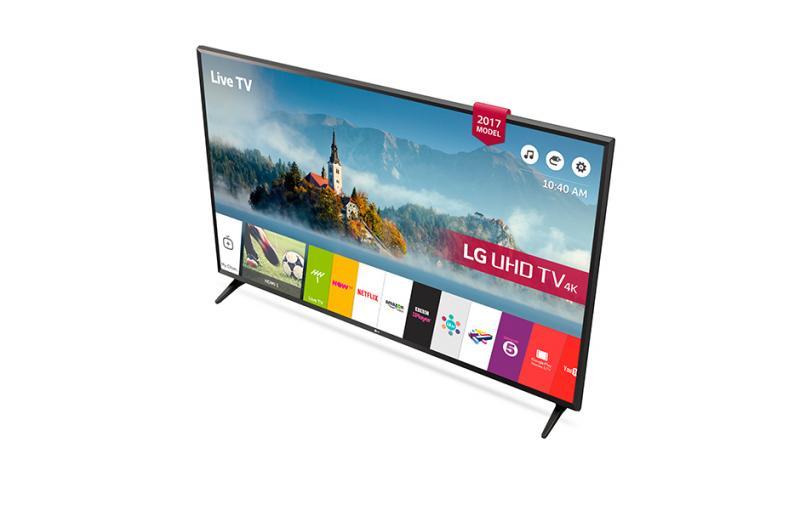 "43"" LG 43UJ630V 4K Ultra HD Freeview Play Freesat HD HDR Smart LED TV"