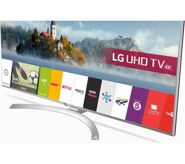 "55"" LG 55UJ701V 4K Ultra HD Freeview Freesat HD HDR Smart LED TV"