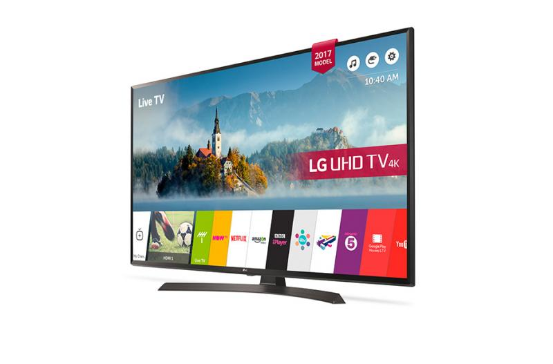"49"" LG 49UJ634V 4K Ultra HD Freeview HD Smart HDR LED TV"