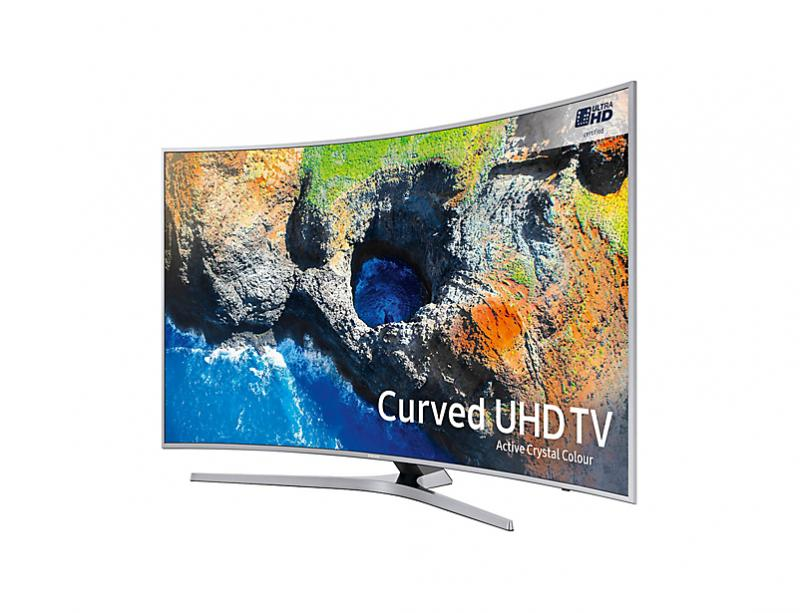 49 Samsung UE49MU6500 Curved Ultra HD HDR 4K Freeview HD Smart LED TV