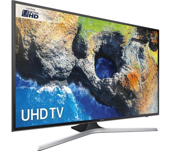 40 Samsung UE40MU6120 4K Ultra HD HDR Freeview HD Smart LED TV