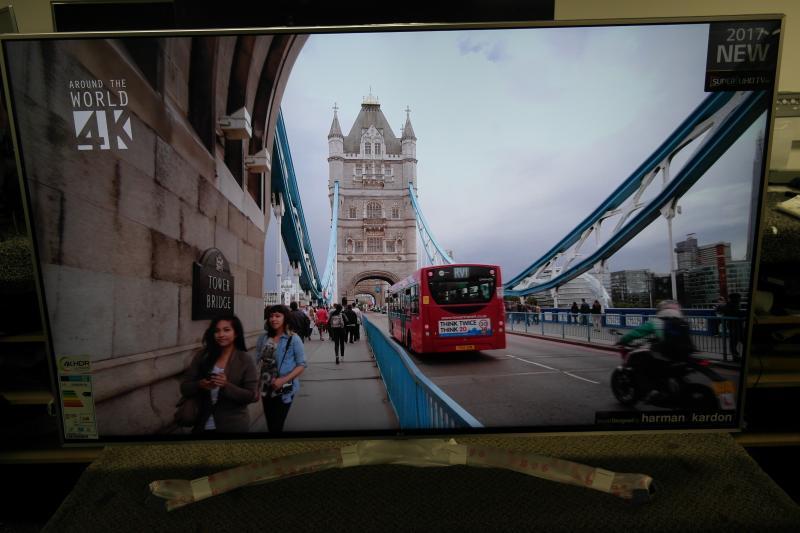 55 LG 55SJ810V 4K Ultra HD HDR Nano Cell Smart LED TV