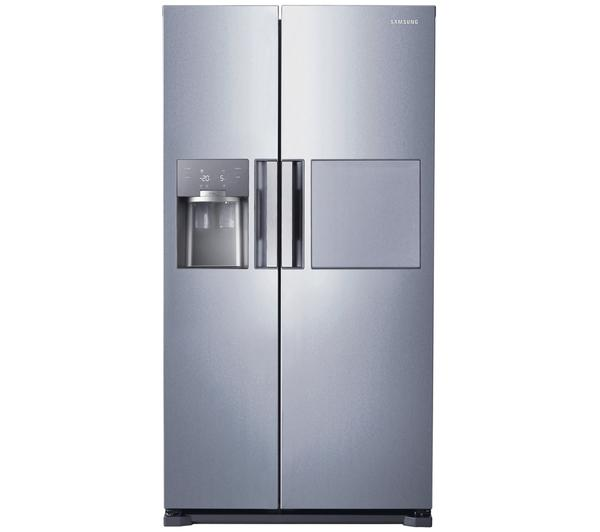 American Fridge With Ice Dispenser Part - 23: Samsung RS7677FHCSL American-Style Fridge Freezer With Water And Ice  Dispenser - Silver