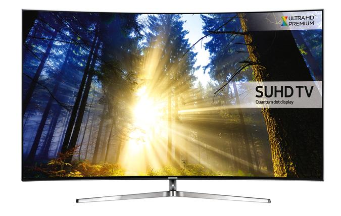 78 Samsung UE78KS9000 4K SUHD Freeview Freesat HD Smart  Curved LED HDR TV