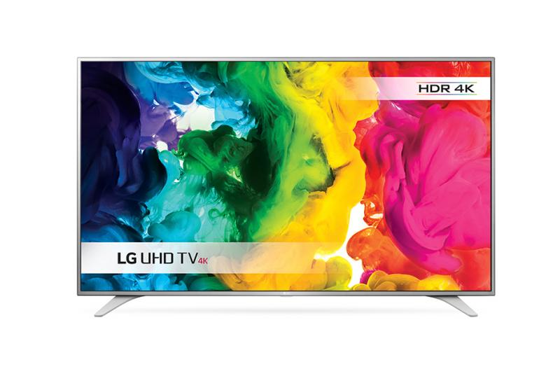 49 LG 49UH650V 4K Ultra HD Freeview HD Smart HDR LED TV