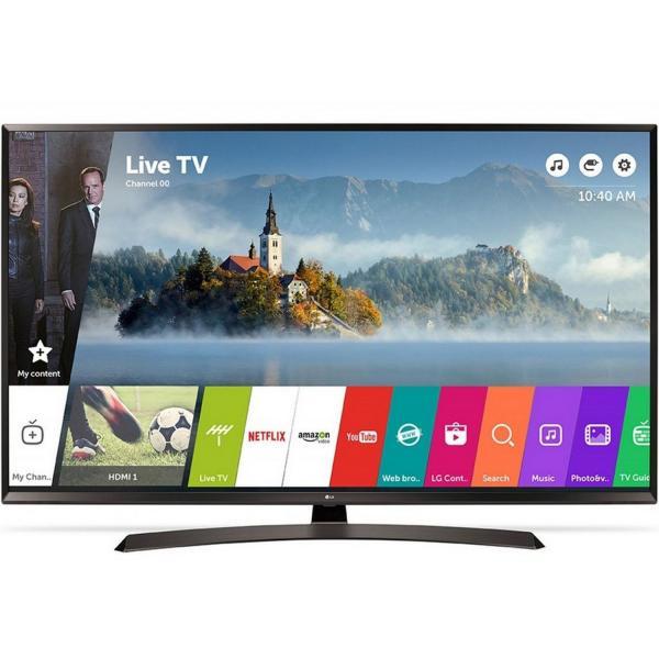 55 LG 55UJ635V 4K Ultra HD Freeview HD Smart HDR LED TV