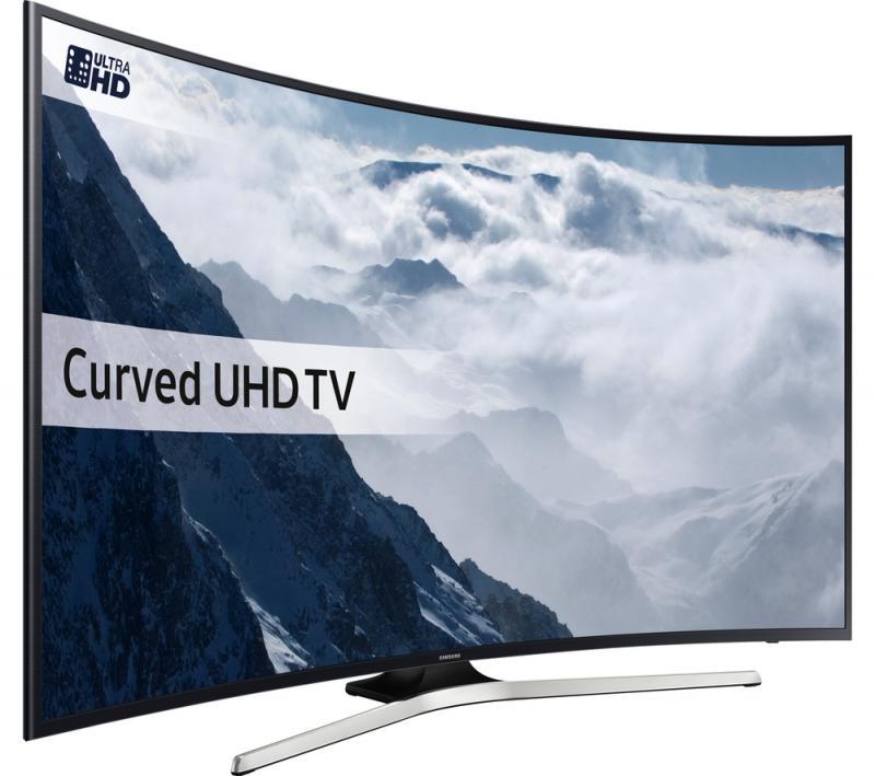 55 Samsung UE55KU6100 Curved Ultra HD HDR 4K Freeview HD Smart LED TV