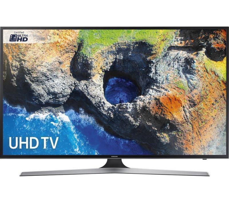 55 Samsung UE55MU6120 4K Ultra HD HDR Freeview HD Smart LED TV
