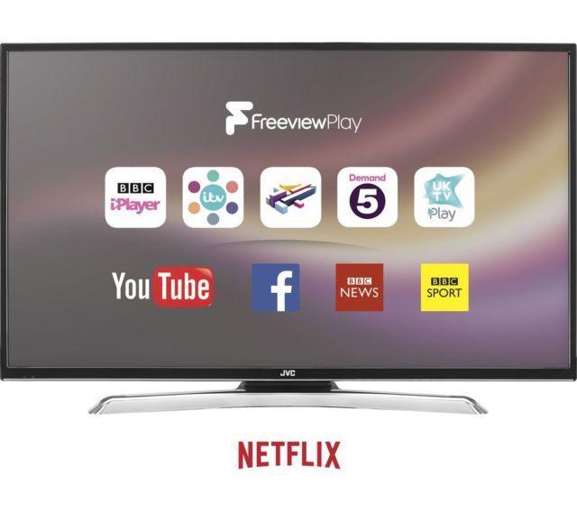 43 JVC LT-43C870 4K Ultra HD Freeview HD Smart LED TV
