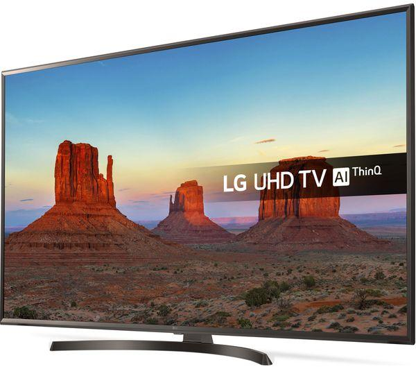 "50"" LG 50UK6470PLC 4K Ultra HD HDR Freeview Play Smart LED TV"