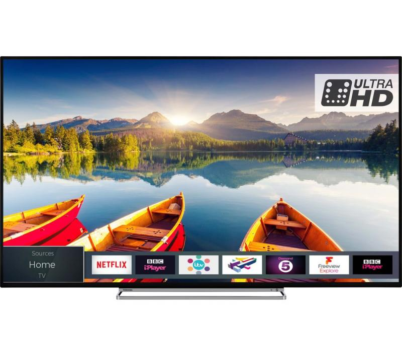 "65"" Toshiba 65U6863DB 4K Ultra HD HDR Smart LED TV"