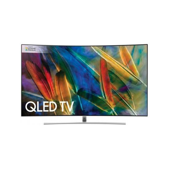 "75"" Samsung QE75Q8CAM Curved 4K Ultra HD HDR 1500 Smart QLED TV"