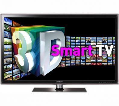40 Samsung UE40D6100 Full HD 1080p Freeview 3D Smart LED TV